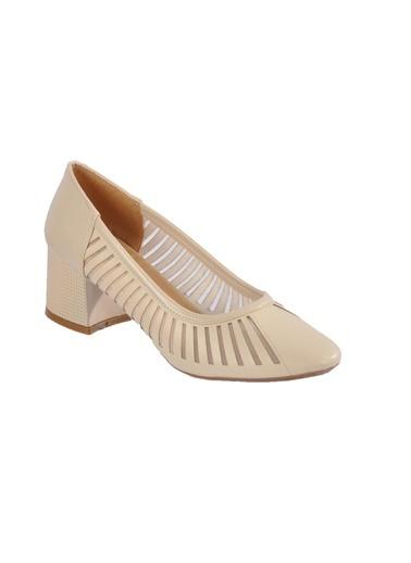 Maje 2127 Ten Kadın Topuklu Ayakkabı Ten